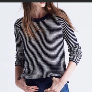 Madewell dockline pullover sweater